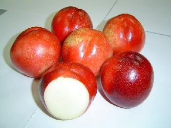 White Nectarines